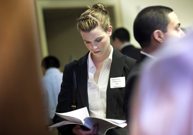 annual career fair allows students to network with