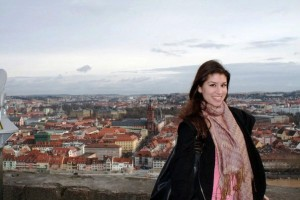 Laura Goldberg '12 in Würzburg, Germany