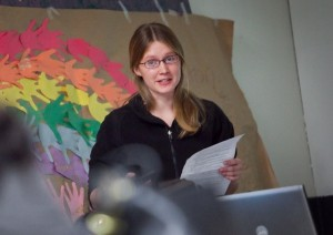 Megan Feeney '12 will pursue a Ph.D. in philosophy at Rutgers University.