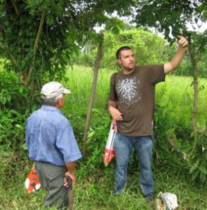 Matthew Verbyla '06 in Honduras
