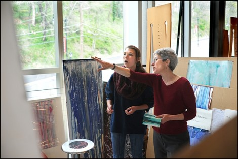 Artist Nancy Cohen speaks with Meghan Miklavic '12 about her work.