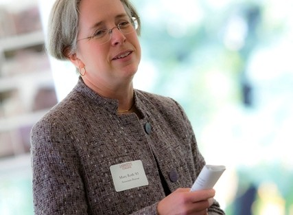 Mary Roth '83, associate provost