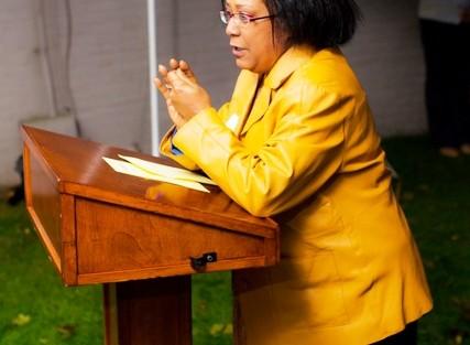 Wendy Wilson-Fall, associate professor and chair of Africana Studies