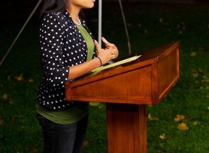Kyara Gray '11, co-chair, McDonogh Network steering committee