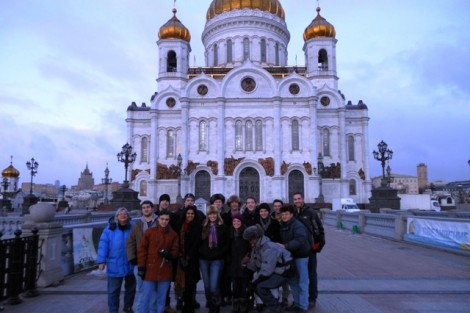 Students studied the social changes experienced in Russia during the 20th century.
