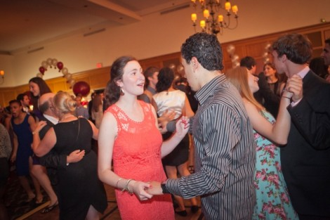 Students, alumni, and faculty danced the night away during the Inaugural Ball.