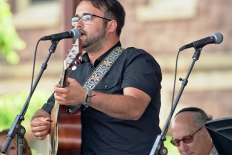 Carlos Barata '14 performs his song 'Far At All.'