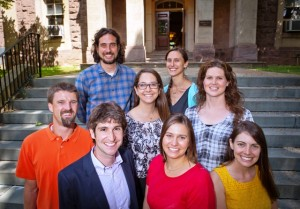 This year's new professors are: Trent Gaugler, Jeremy Zallen, Amir Sadovnik, Jessica Carr, Melissa Galloway, Susan Wenze, Roxy Swails, and Tamara Carley.