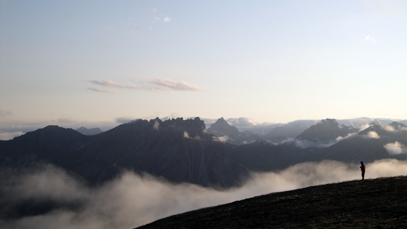 The Matunuska Valley in Alaska