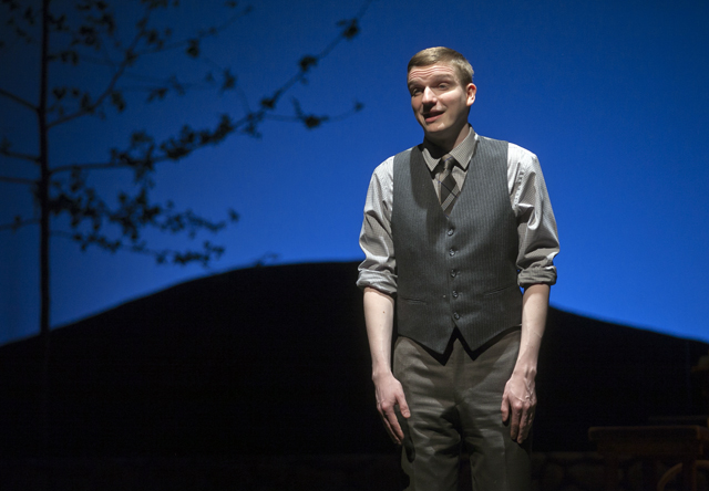 Joseph Rothschild '16 sings in Dancing at Lughnasa