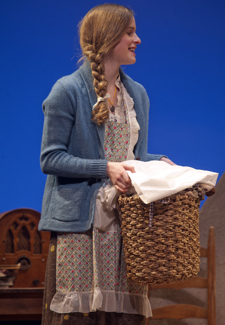 Emma Glubiak '18 performs in Dancing at Lughnasa