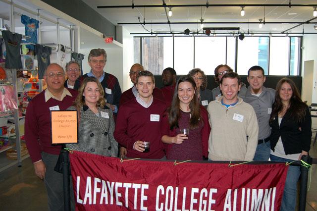 The Lehigh Valley Alumni Chapter at Steel Stacks in Bethlehem