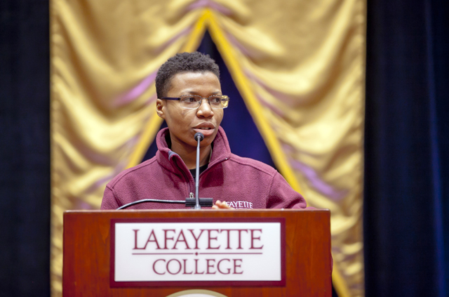Stacey-Ann Pearson '15 describes her experiences at Lafayette.