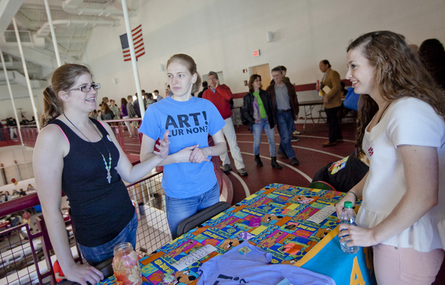 Members of the Arts Society describe the group's many activities and events.