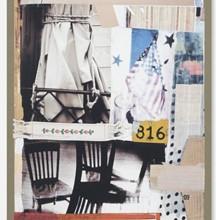 <em>Tag</em> by Robert Rauschenberg