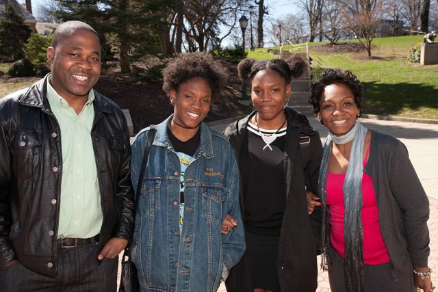 A new Lafayette family, Photo by Clay Wegrzynowicz '18