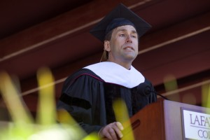 Commencement Speaker Eric Weihenmayer