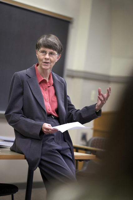 Carolynn Van Dyke, Francis A. March Professor Emerita of English, was one of the program's founding members.