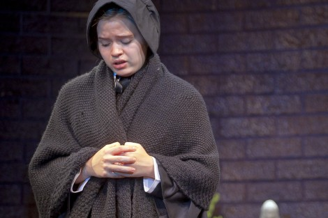 Meryl Hahne '18 as Sister James