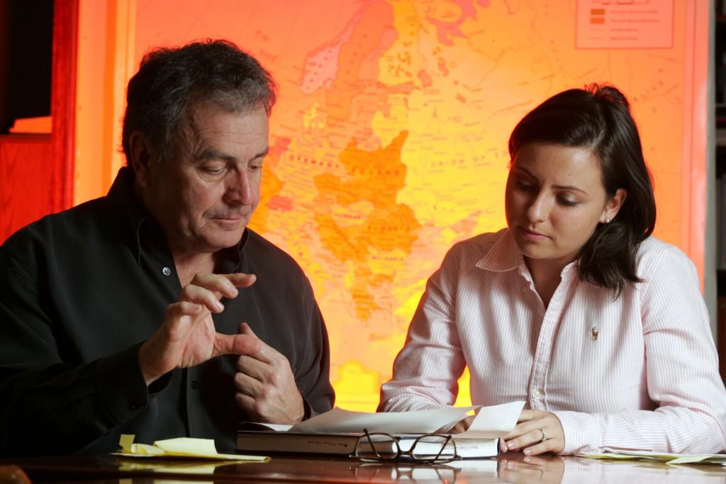 Margarita Karasoulas '08 worked with Prof. Miller on Masters of Air.
