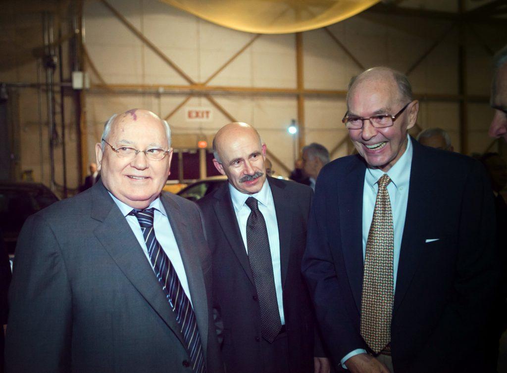 Oechsle with Mikhail Gorbachev