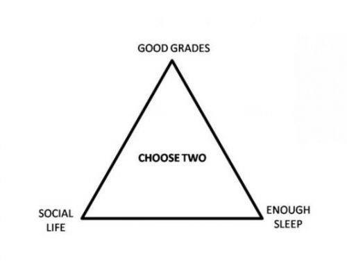 friends-grades-homework-triangle