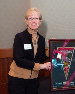 Laneta Dorflinger '75 received the Kidd Award in 2012.