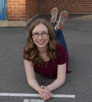 Erin McKenney '20 smiles