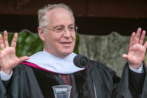 Biographer Ron Chernow gives his address.