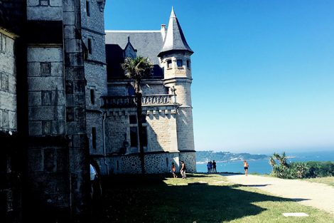 Château Abbadia in Hendaye, France. Submitted by Katie DePaolis '18