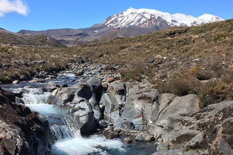 Tongariro National Park in New Zealand. Submitted by Draeland James '17