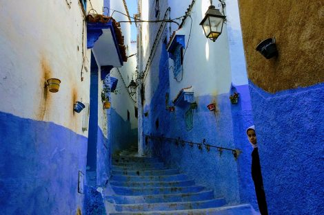 Chefchaouen, Morocco's blue city. Submitted by Taha Rohan '19