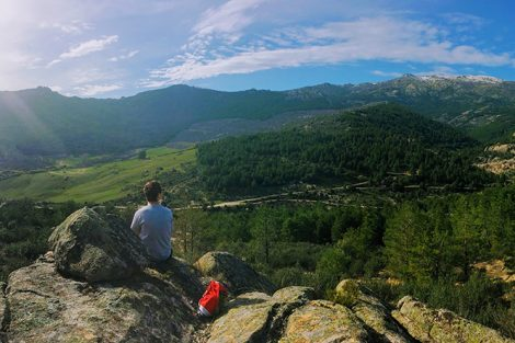 The La Pedriza hike trail close to Madrid, Spain. Submitted by Taha Rohan '19