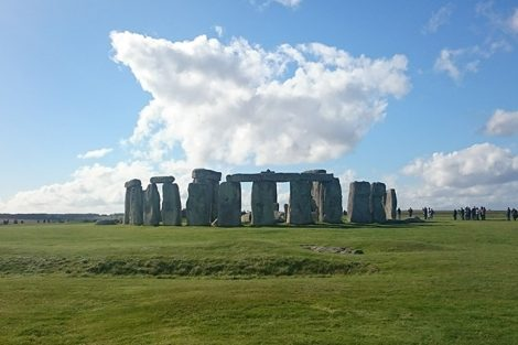 The prehistoric monument Stonehenge in Wiltshire, England. Submitted by Matt Peters '19