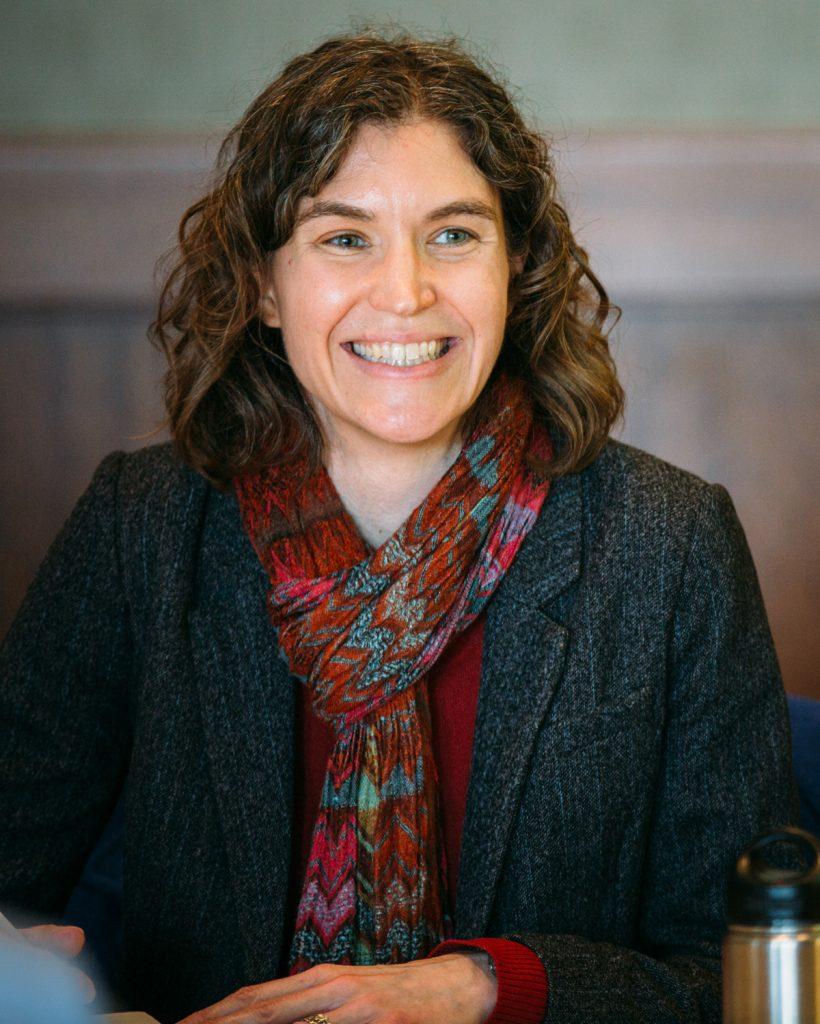 Marie Fechik-Kirk smiles.
