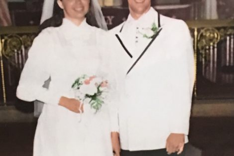 The 1971 wedding of Cathy and Ed Ahart