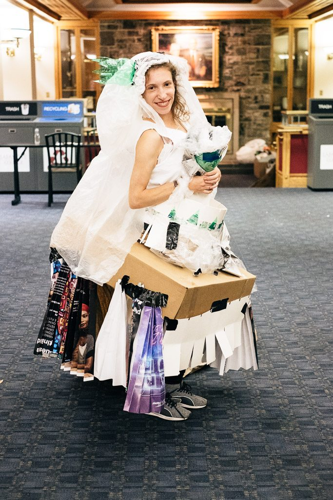 Andrea Samson '20 took top prize for Zombie Bride.