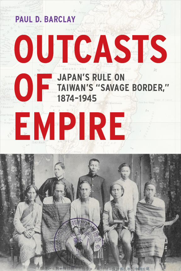 The cover of the book Outcasts of Empire