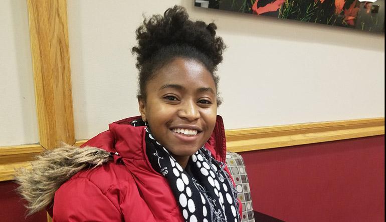 Clara Randimbiarimanana '18, sociology & anthropology and international affairs