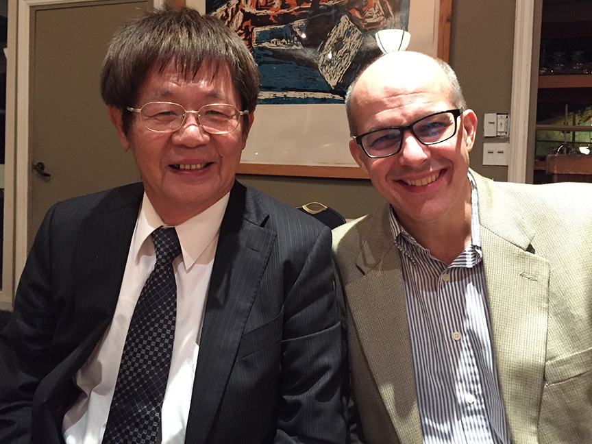 Paul Barclay and Deng Shian-yang