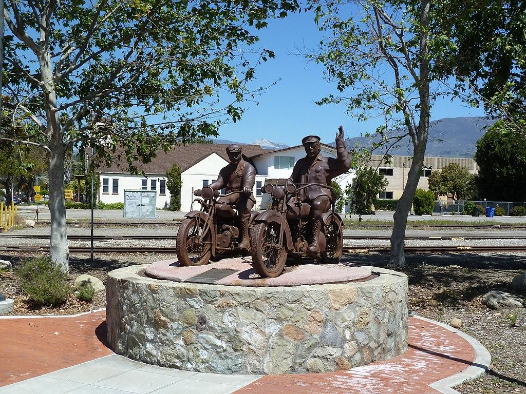 St. Francis Dam Disaster Memorial in Santa Paula, Calif. Photo by Chris English
