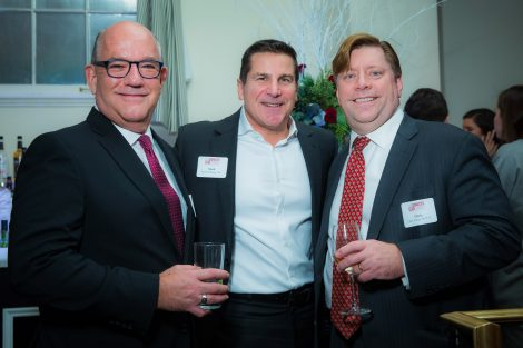 Tony Fernandez '81, Mark Di Maggio '86, and Chris Nolan '86 P'17