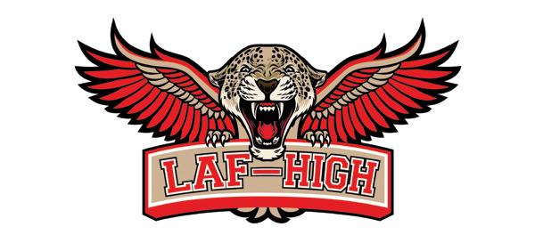 Laf-High mascot