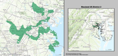 Maryland US Congressional District 3