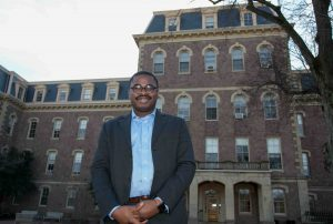 Lehigh master's student Clinton Nwanedo '18