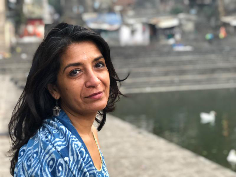 Nandini Sikand, associate professor of film and media studies, who received a Guggenheim Fellowship