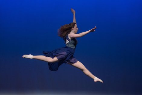 Students take part in the Lafayette Dance Company's 2018 Spring Showcase at the Williams Center for the Arts.