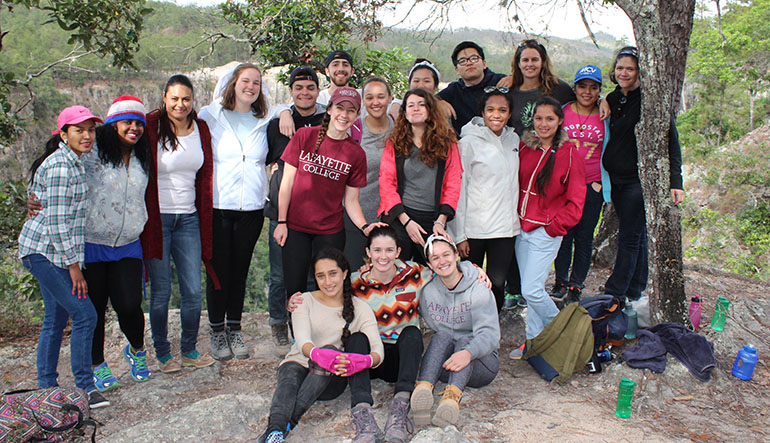 Students in Honduras