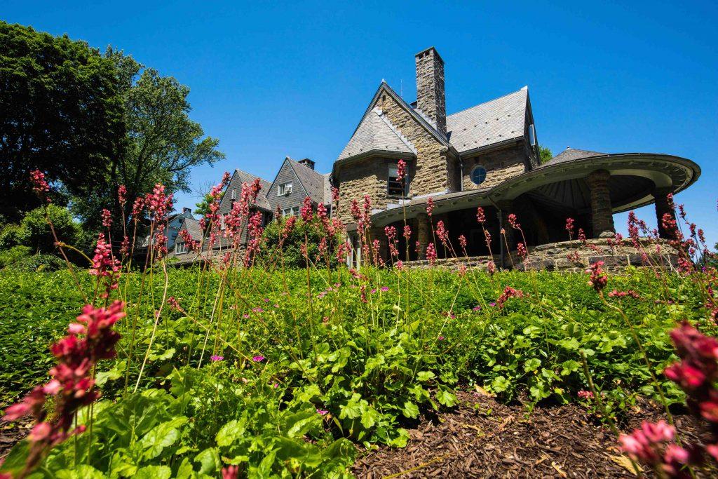 McKelvy House garden