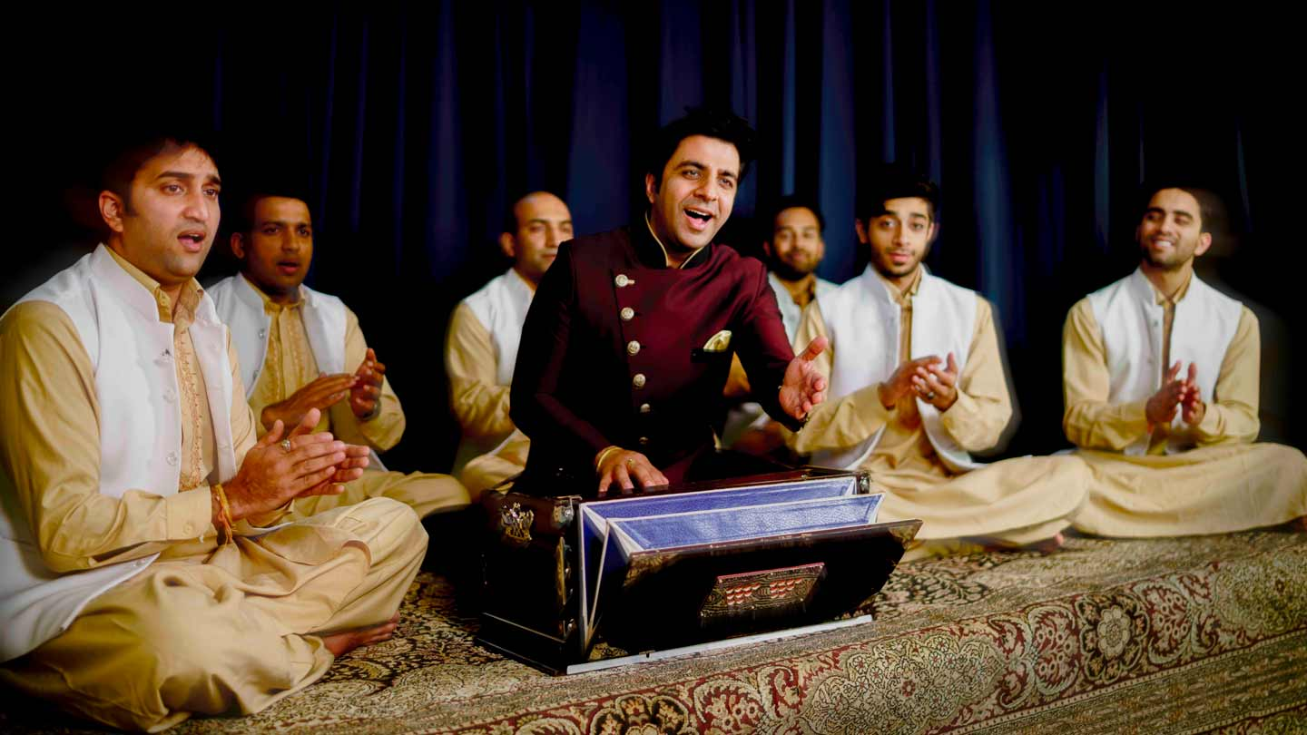 Riyaaz Qawwali performs Sufi music.